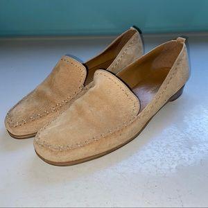 Enzo Angiolini tan loafers
